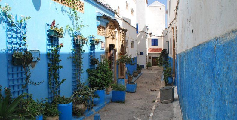 rabat alley maroc