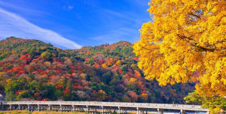 Kyoto Togetsu-kyo Bridge