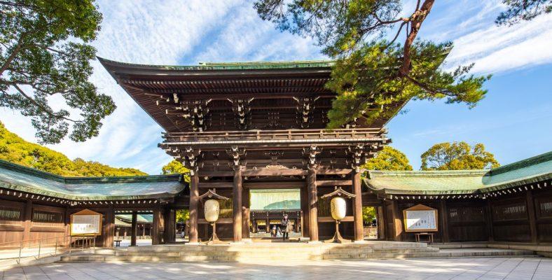 Tokyo Altarul Meiji jingu