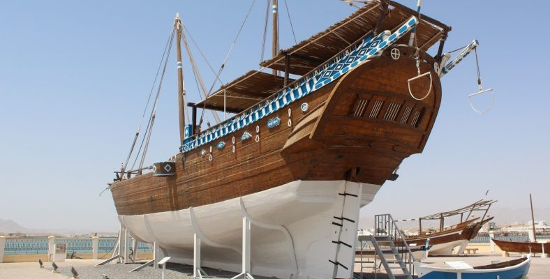 traditional dhow, oman