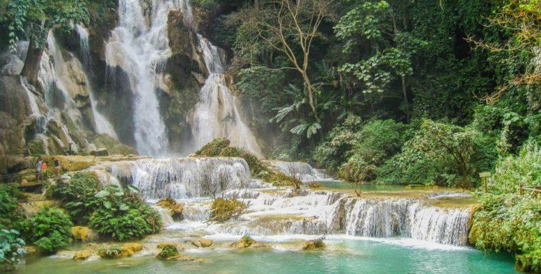 Kuang Sy Waterfall Laos