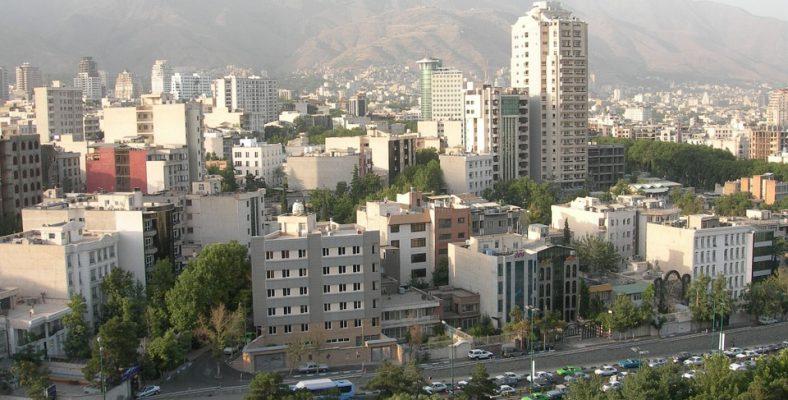 teheran landscape