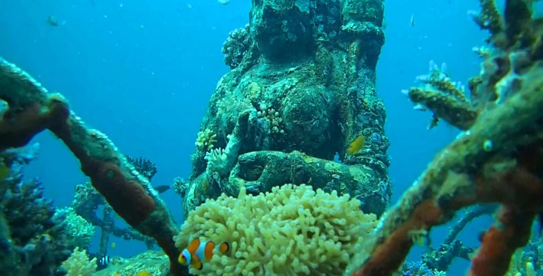 pemuteran bali underwater temple
