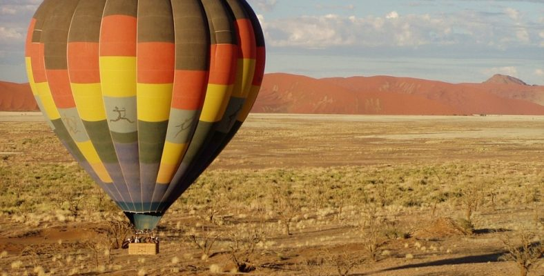 namibia ballon tour