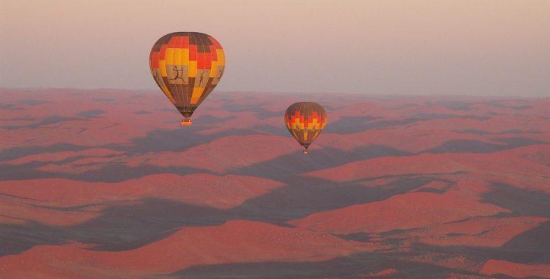 sossusvlei namibia desert ballon tour