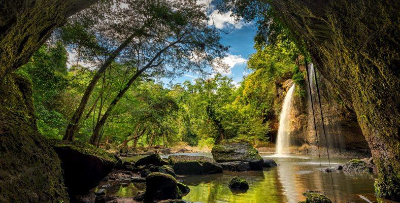 Khao Yai national park waterfall