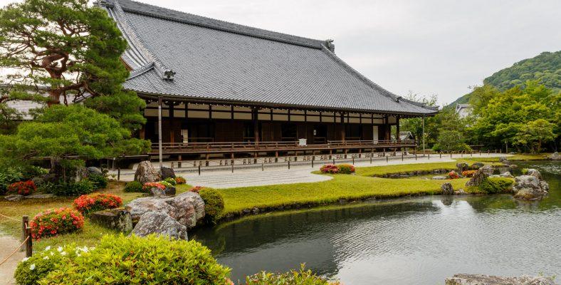 Kyoto Tenryu-ji temple