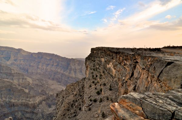 Jebel Shams Grand Canyon, Oman