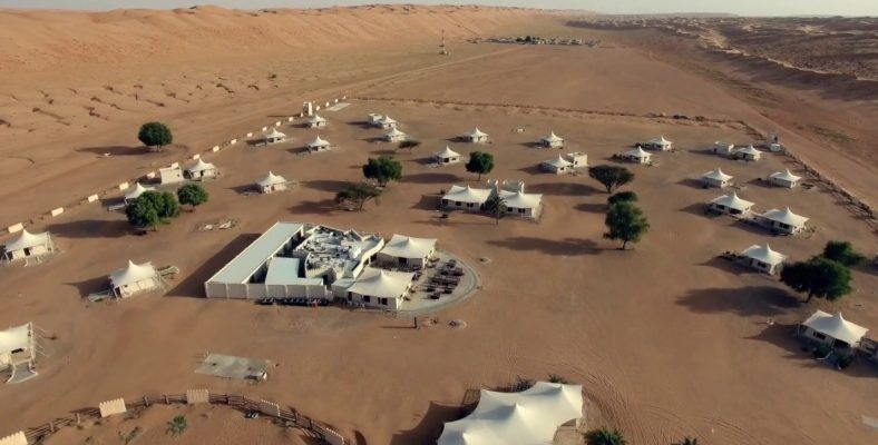 desert night camp wahiba sands