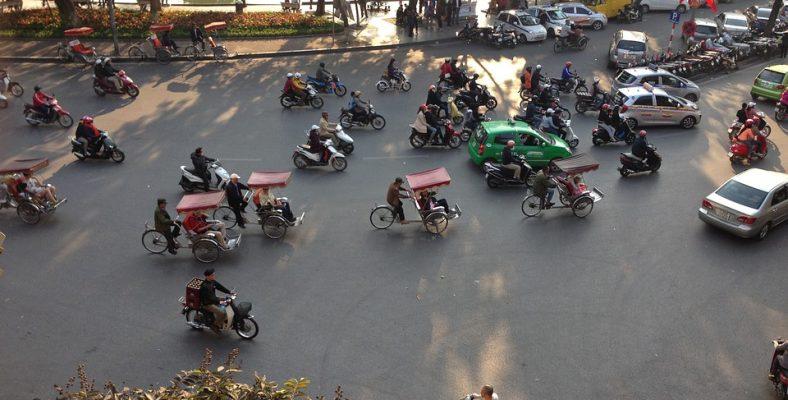 hanoi vietnam traffic