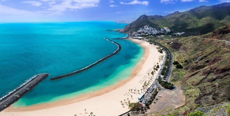 tenerife coast beach