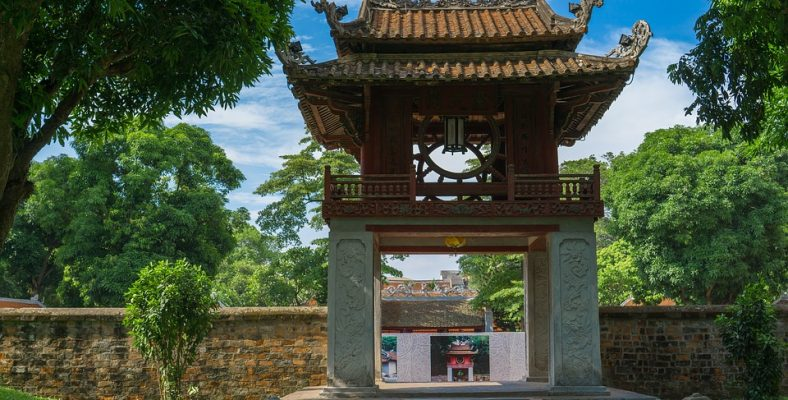 Temple of Literature (Van Mieu) - Hanoi