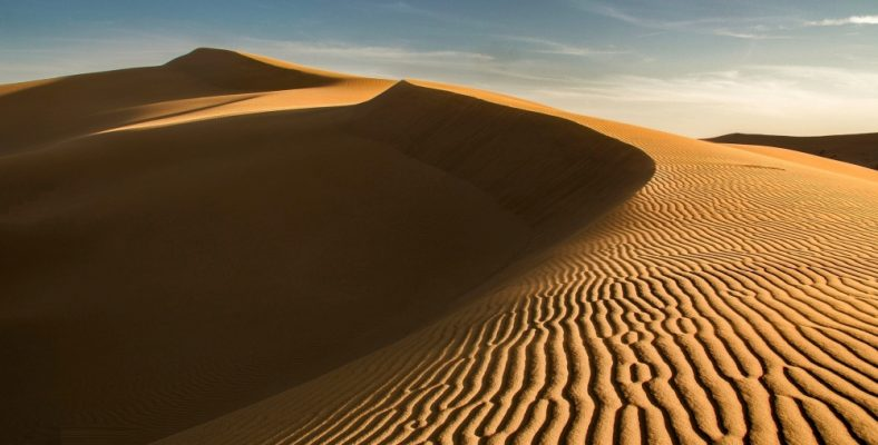 Varzaneh Desert
