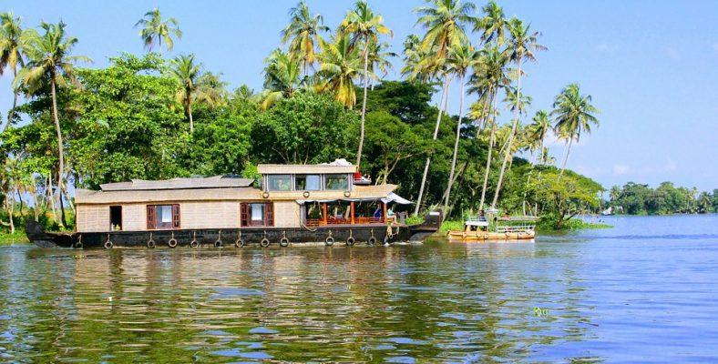 alleppey, kerala - houseboat