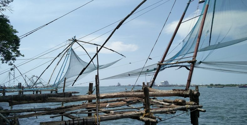 cochin - chinese fishing net
