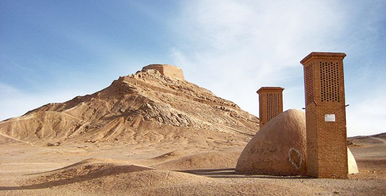 towers of silence yazd