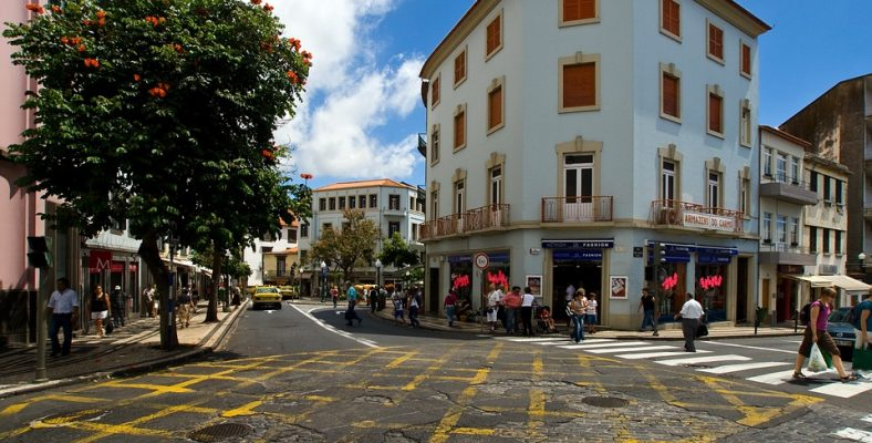 MADEIRA- FUNCHAL - OLD TOWN