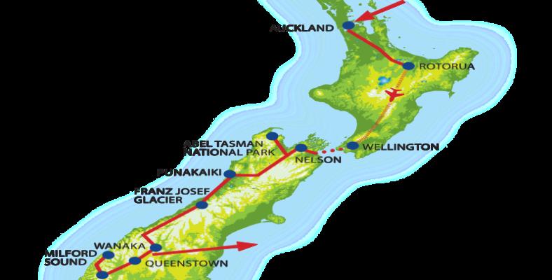 1 map new zeeland