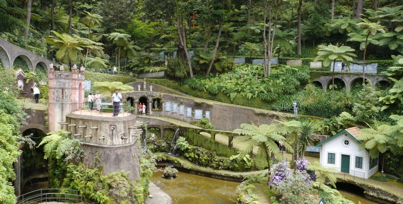 monte Palas gardens